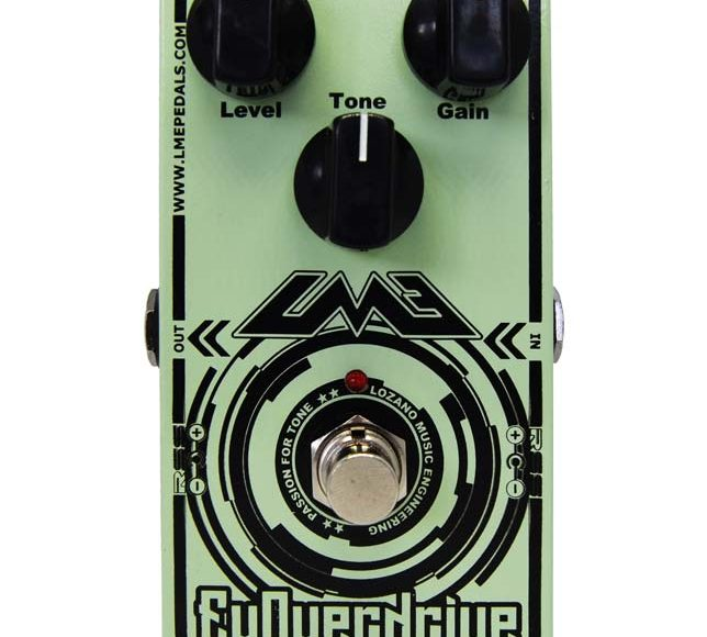 The best guitar overdrive