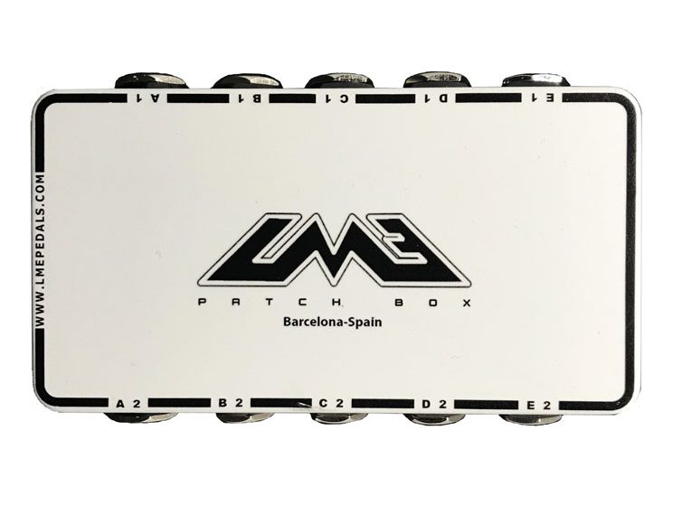 The Best Patch box for your pedalboard and your studio