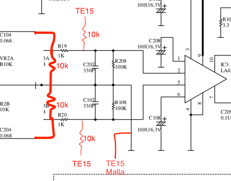 Passive mixer Vestax HT Line In Portablism