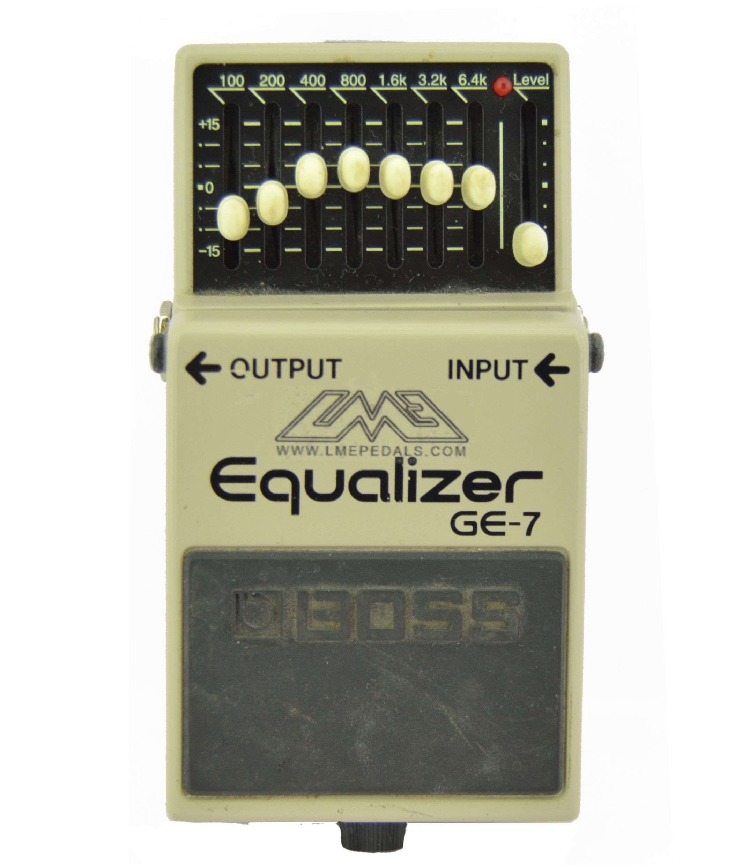 Super definition Mod Boss GE7. Más claridad, menos ruido.