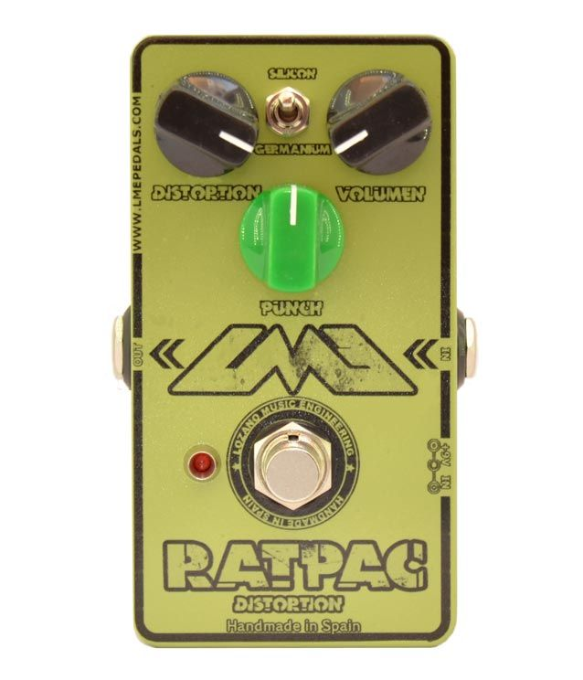 RatPac distortion. Descatalogado