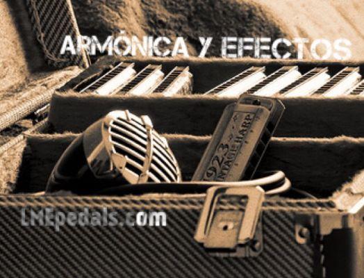 Armónica y efectos. Parte IV. Armónica y micros